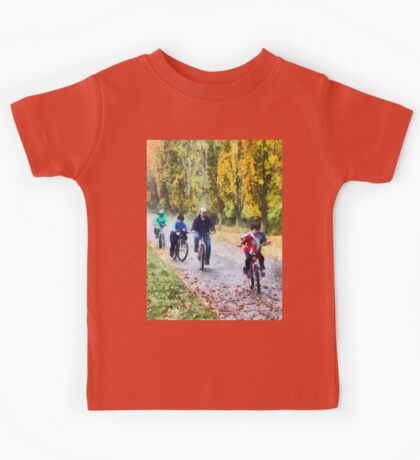 Family Bike Ride Kids Tee