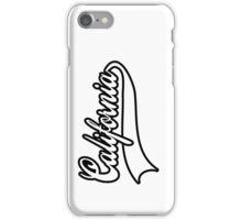 California typography iPhone Case/Skin
