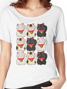Beckoning Cat Women's Relaxed Fit T-Shirt