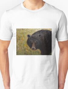 Great Smoky Mountains Black Bear Portrait Unisex T-Shirt