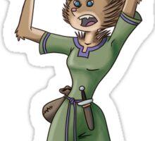 Hedgehog Sorceress Sticker