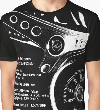Ford Falcon XY GT & GTHO (specifications) © Graphic T-Shirt