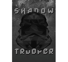 Star Wars Low Poly Shadow Trooper Photographic Print