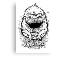 Critter Canvas Print