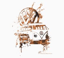 Volkswagen Kombi Splash Sepia © Kids Clothes