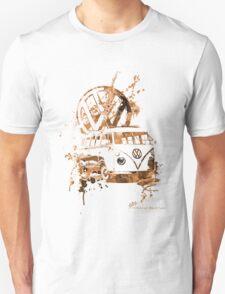 Volkswagen Kombi Splash Sepia © Unisex T-Shirt