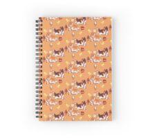 Corgi: chocolate and vanilla Spiral Notebook