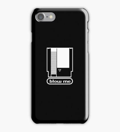 """Blow me"" NES cartridge iPhone case. iPhone Case/Skin"