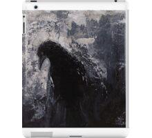 Original Gothic Crow Raven Painting  iPad Case/Skin