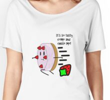 """Ice Cream Cake"" Vague K-Pop Reference Tee Women's Relaxed Fit T-Shirt"