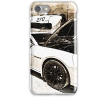 Chevy Camaro and Vintage Plane iPhone Case/Skin