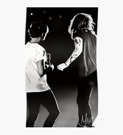 Stage Larry  Poster