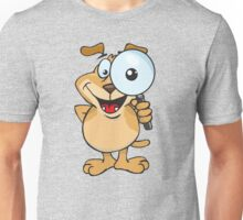 magnifying and cartoons Unisex T-Shirt