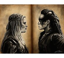 Clexa Photographic Print
