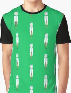 Minimalist Rick Graphic T-Shirt