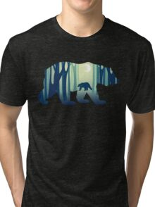 A Walk In The Night Forest Tri-blend T-Shirt