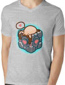 Match Made in Black Mesa Mens V-Neck T-Shirt