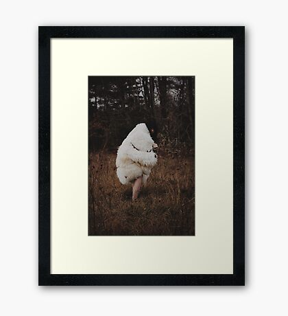 To the Earth Framed Print