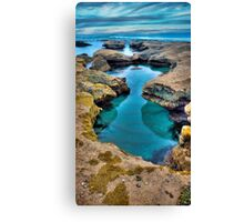 """""""Hour Glass"""",Point Roadknight,Anglesea,Great Ocean Road,Australia. Canvas Print"""