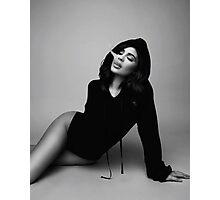 Kylie Jenner Smoke Photographic Print