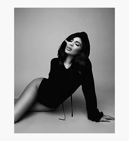 Kylie Jenner Smoke Photographic Print