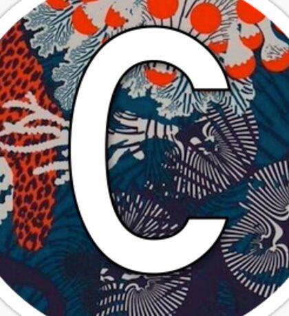 """""""C"""" Letter Monogram Sticker"""