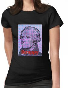 Hamilton on Broadway - Scrappy Womens Fitted T-Shirt