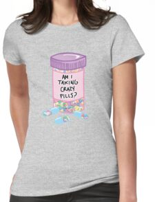 Crazy Pills Zoolander sprinkles weird pills tumblr meme print Womens Fitted T-Shirt