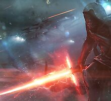 Kylo Ren Star Wars by crimsonbubble