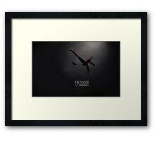 Hunter is coming Framed Print