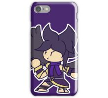he's here 2 fite iPhone Case/Skin