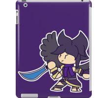 he's here 2 fite iPad Case/Skin
