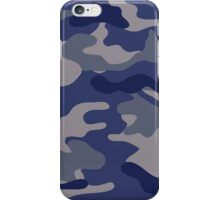 Blue Camo iPhone Case/Skin