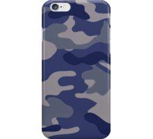 Blue Camo iPhone Case/Skin
