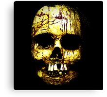 Head of a corpse Canvas Print