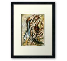 The Water Bearer (Aquarius) Framed Print