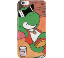 Chill yoshi iPhone Case/Skin