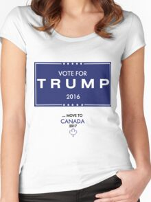 Trump Canada Shirt Women's Fitted Scoop T-Shirt