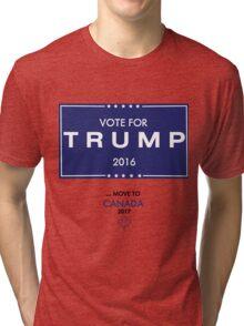 Trump Canada Shirt Tri-blend T-Shirt