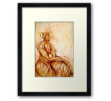 The Fawn (Capricorn) Framed Print