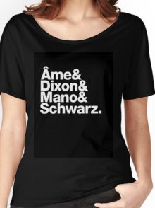 Ame & Dixon & Mano & Schwarz. Women's Relaxed Fit T-Shirt
