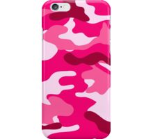 Pink Camo iPhone Case/Skin