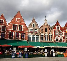 Brussels - Brugge - square - 2009 by Ren Provo