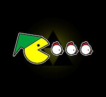 Pac-Link  by BoggsNicolasArt