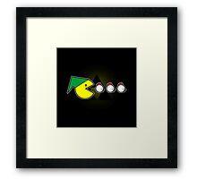 Pac-Link  Framed Print