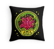 Little Metroid Larva Throw Pillow