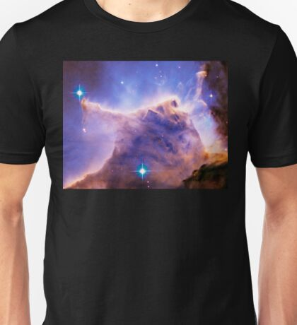 Eagle Nebula, M16 Pillars of Creation detail Unisex T-Shirt