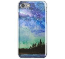 Night over the water iPhone Case/Skin