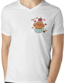 Aqua the Poodle ! - #2 Mens V-Neck T-Shirt