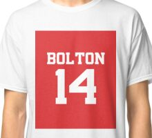 High School Musical Jersey Design: Troy Bolton Classic T-Shirt